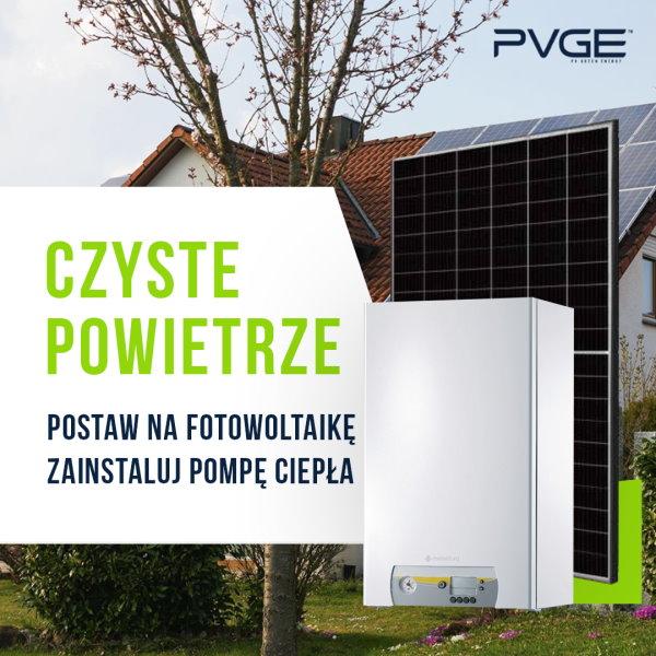 Czyste Powietrze PVGE - pompa ciepła