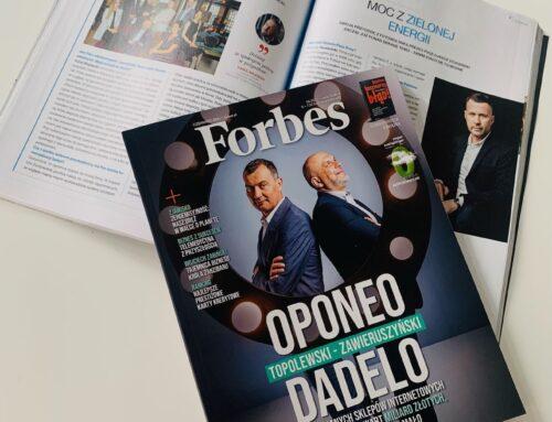 Prezes PVGE w Forbes